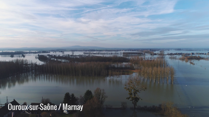 Inondations Saône-et-Loire 2018
